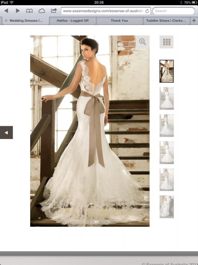 Wedding Dress Alterations Huddersfield : Essense of australia d wedding dress on sale off