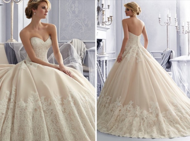 Morilee 2674 second hand wedding dress on sale 65 off for Second hand mori lee wedding dresses