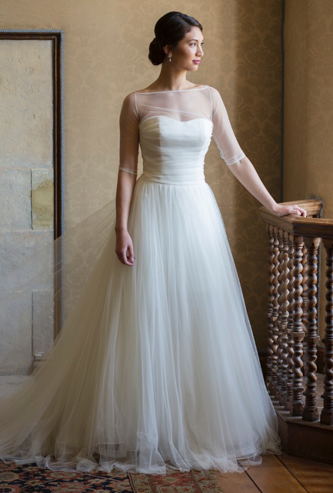 Augusta Jones Diana Sample Wedding Dress on Sale 83% Off - Stillwhite