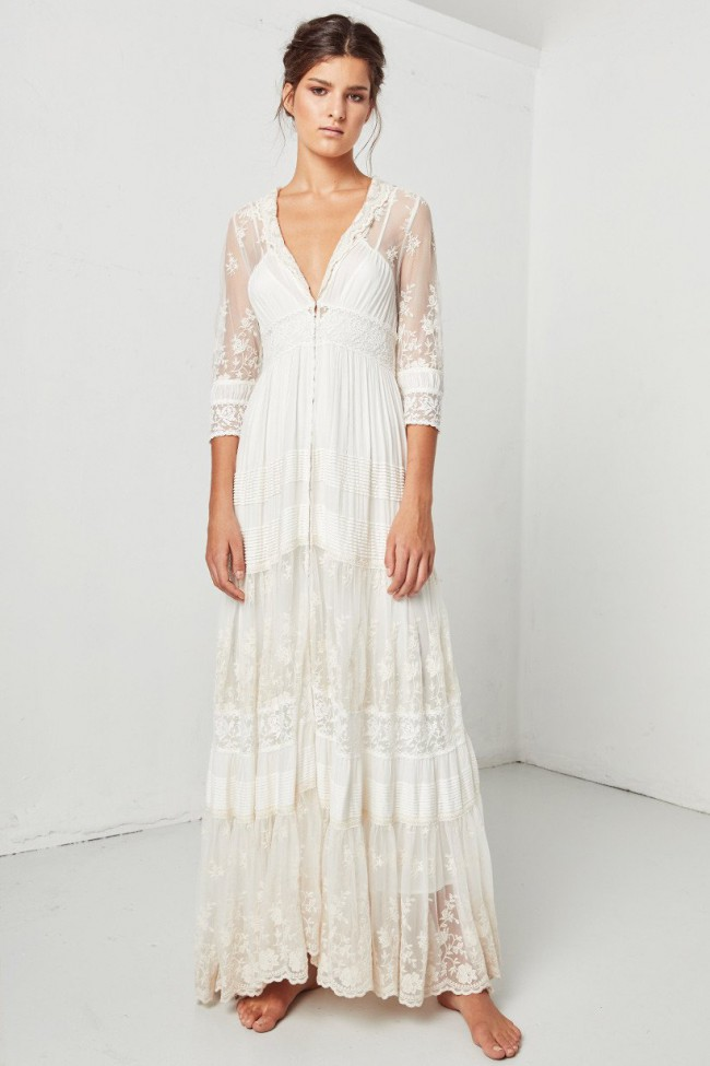 Spell Designs Evangeline New Wedding Dress on Sale - Stillwhite