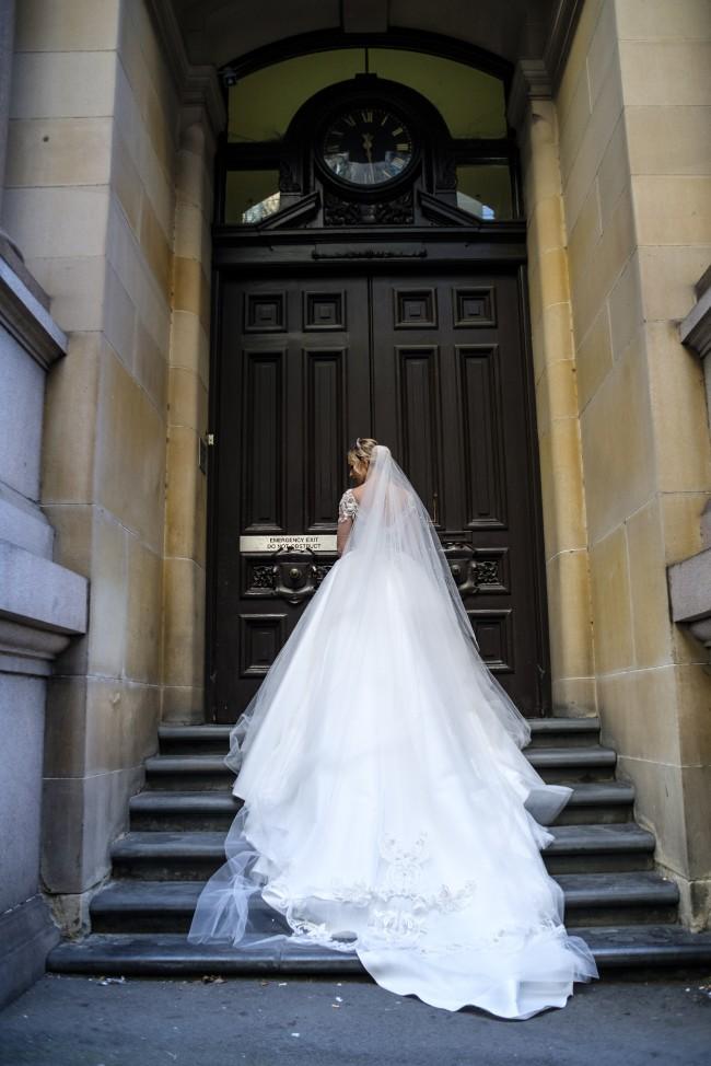 Suzanna blazevic custom made second hand wedding dresses for Suzanna blazevic wedding dresses