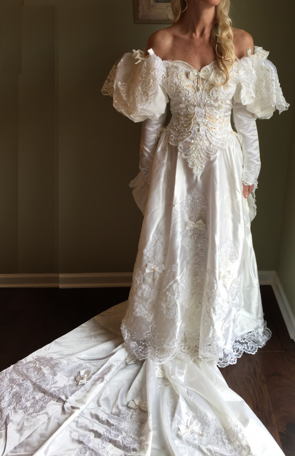 Ball gown second hand wedding dress on sale 97 off for Second hand wedding dresses for sale