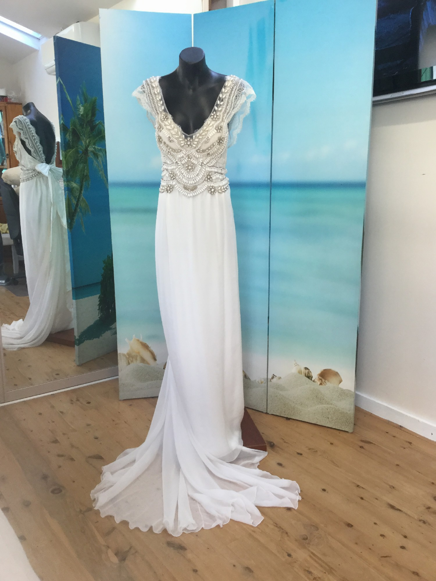 Anna Campbell Coco Pre-Owned Wedding Dress on Sale 44% Off