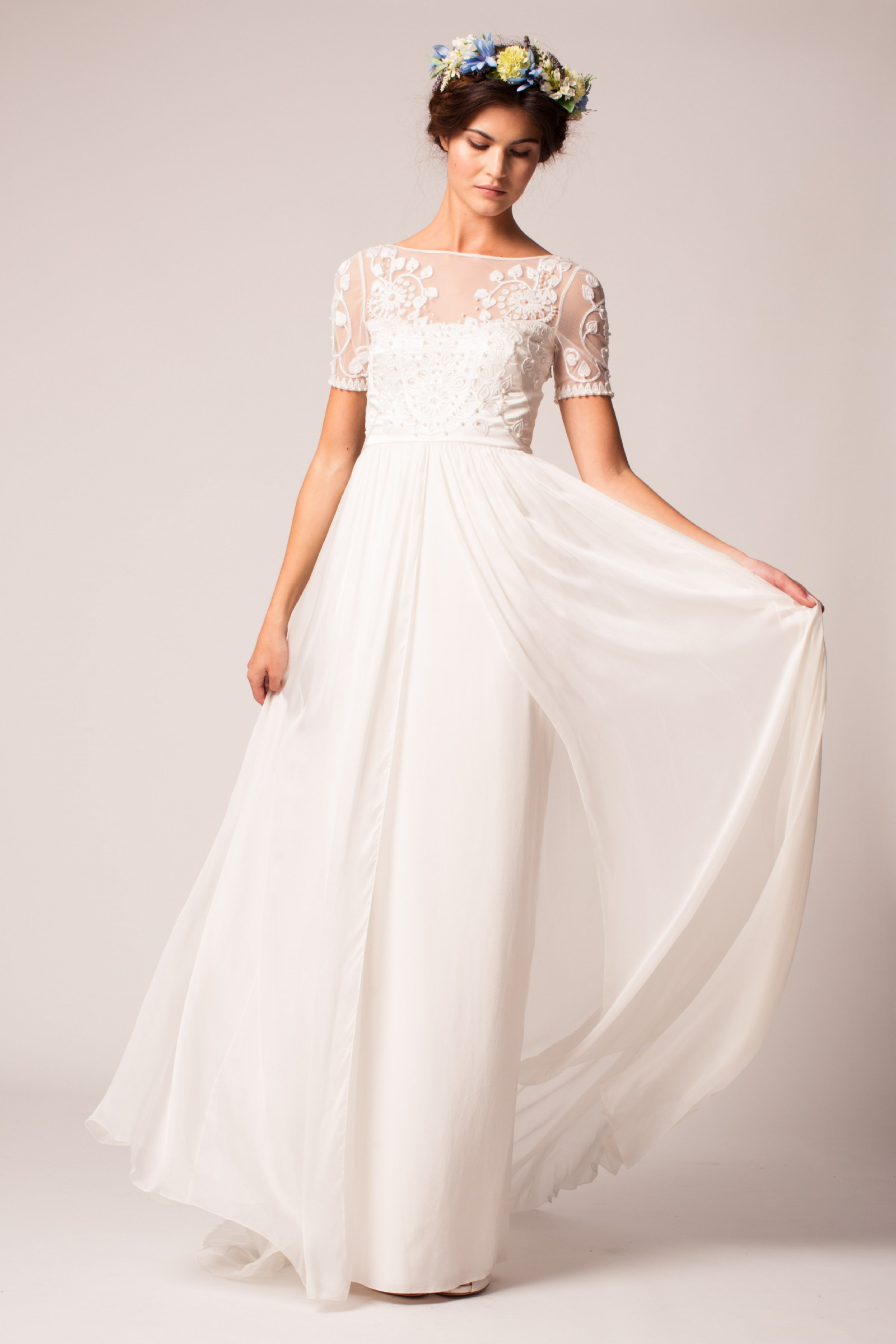 temperley london saffron new wedding dress on sale 60 off