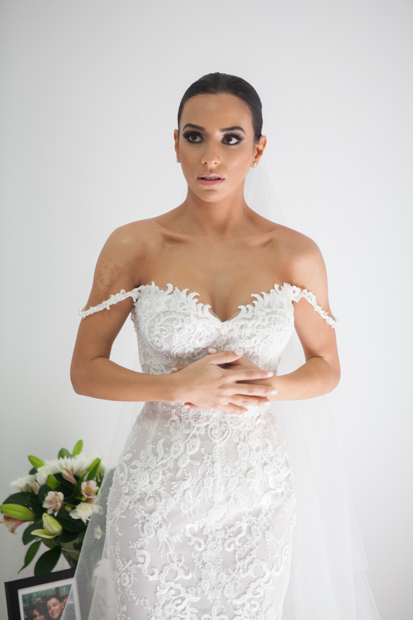 Steven Khalil custom made - Second Hand Wedding Dresses - Stillwhite
