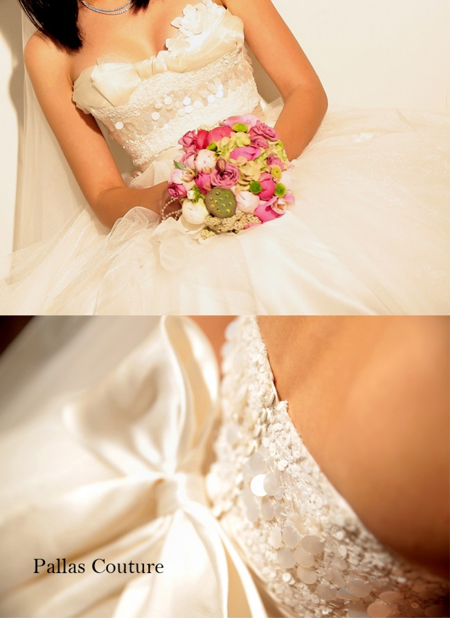 Pallas couture fantasia corilea second hand wedding dress for Second hand wedding dresses san diego