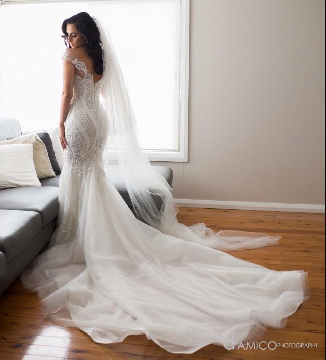 Second Hand Wedding Dresses: Norma Bridal Couture Custom Made