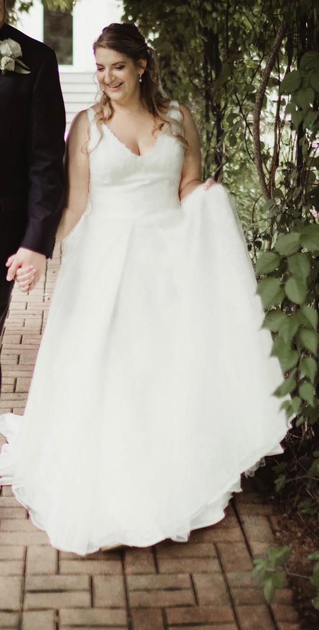 Vera wang vw351318 second hand wedding dress on sale 40 off for Second hand vera wang wedding dress