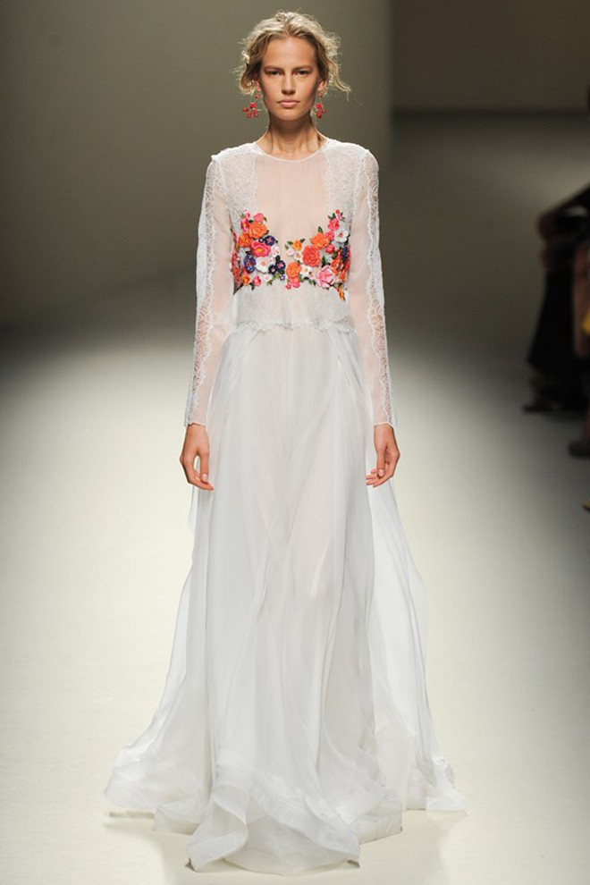 Alberta Ferretti Spring 2014 RTW Dress