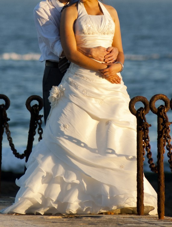Elizza beth calistan second hand wedding dress on sale 85 off for Second hand wedding dresses san diego