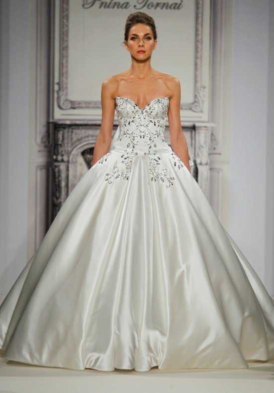 Pnina tornai pre owned wedding dress on sale 68 off for Kleinfeld wedding dresses sale