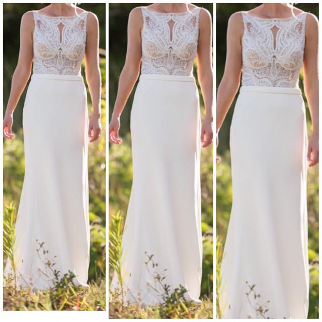 Martina Liana Style 823 Preowned Wedding Dress On Sale 52