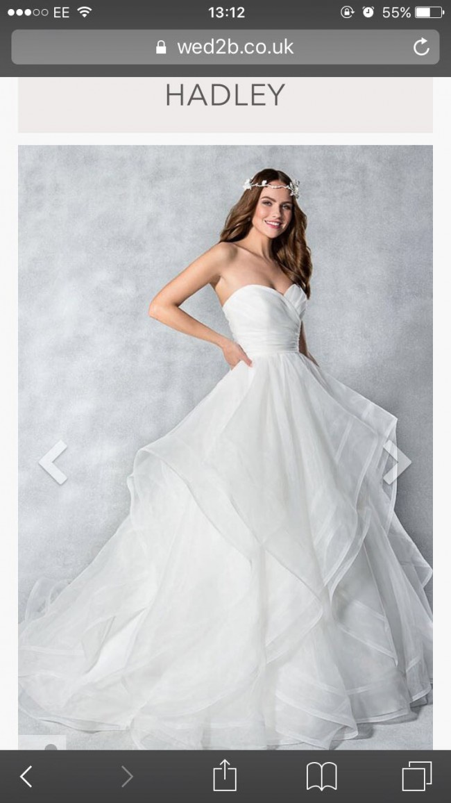 Ball Gown New Wedding Dress on Sale 25% Off - Stillwhite