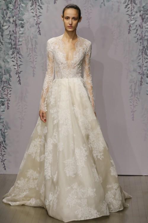 Monique Lhuillier Winslet Pre-Owned Wedding Dress on Sale 67% Off