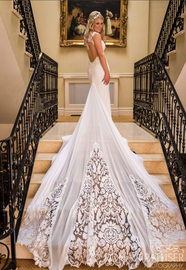 Dimitrius dalia custom made used wedding dress on sale 55 off for Dimitrius dalia wedding dresses