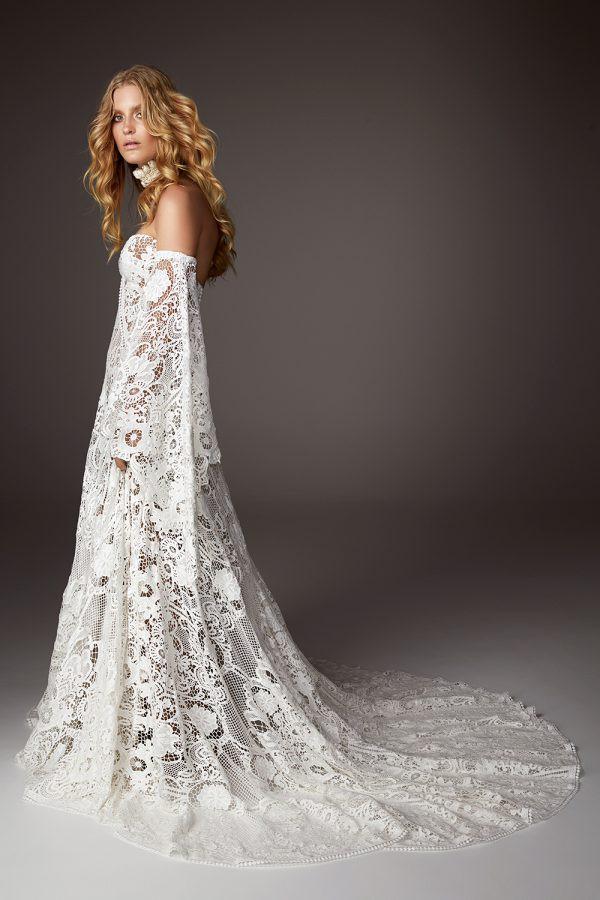 33 rue de seine bohemian inspired wedding gowns rue de seine beau junglespirit Image collections