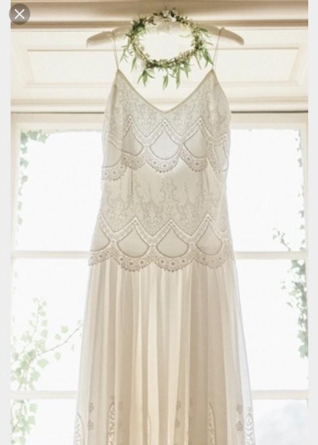 Rue de seine eve preowned wedding dress on sale 67 off for Rue de seine wedding dress cost