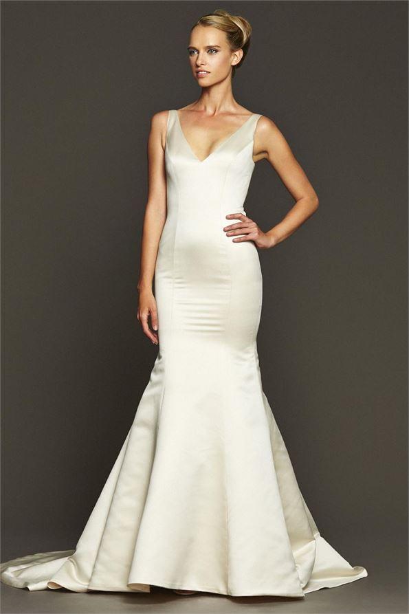 Badgley Mischka Shearer Sample Wedding Dress on Sale 71% Off
