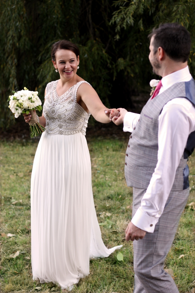Anna Campbell The Madison Wedding Dress on Sale 25% Off