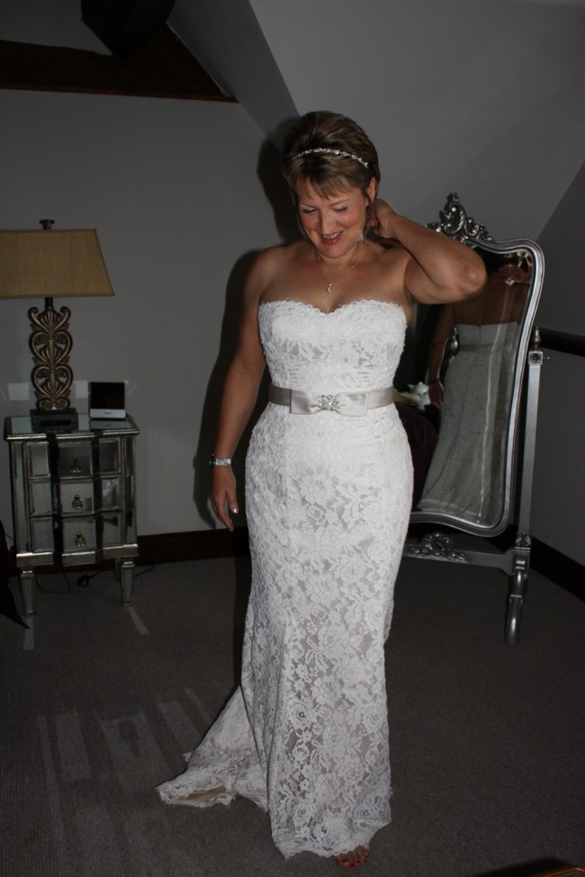 White Rose R704 Pre-Owned Wedding Dress on Sale 46% Off