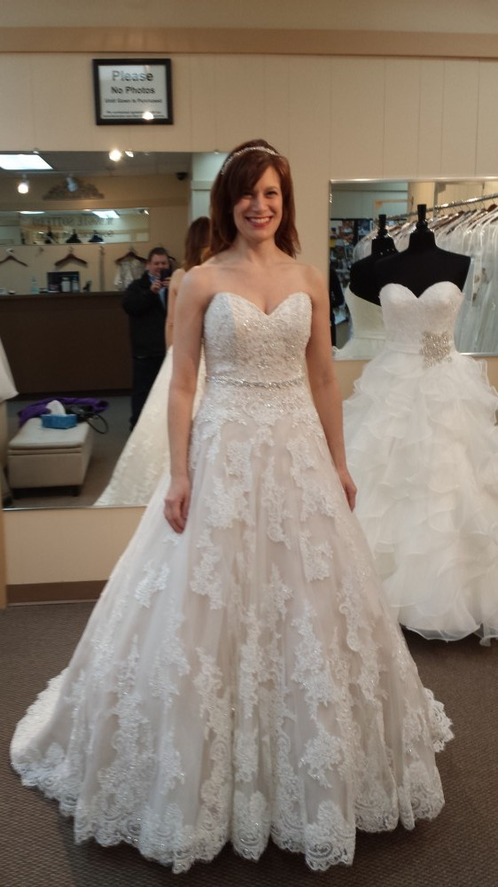 David Tutera 37 Wyomia Style # 214206 New Wedding Dress On Sale 49% Off