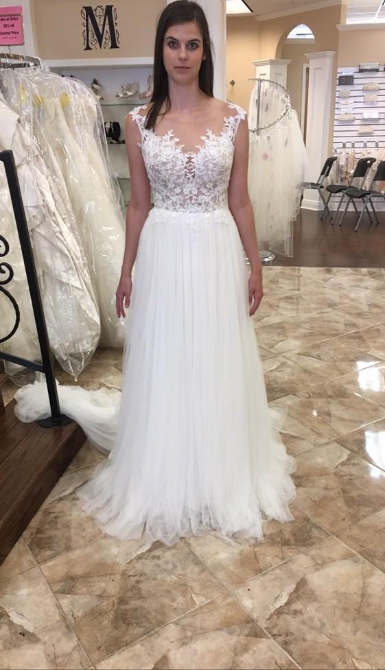 Essense Of Australia Romantic Beach Wedding Gown Style6490 New