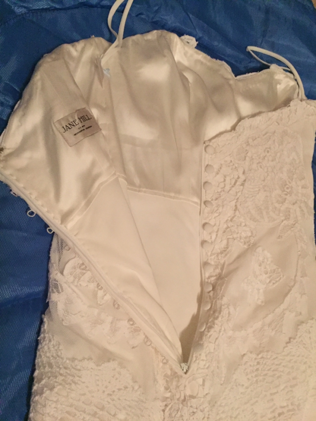 Jane Hill Strapless Lottie Preloved Wedding Dress On Sale