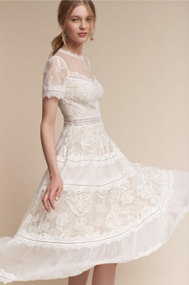 Tadashi Shoji Camilla New Wedding Dress On Sale 24 Off Stillwhite