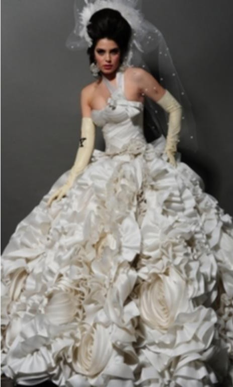 Pnina tornai 5179 nlty 32824377 preowned wedding dress on for Pnina tornai wedding dress cost