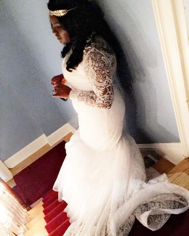 Henry Roth Second Hand Wedding Dress On Sale 82 Off: Bishme Cromartie Custom Made Second Hand Wedding Dress On