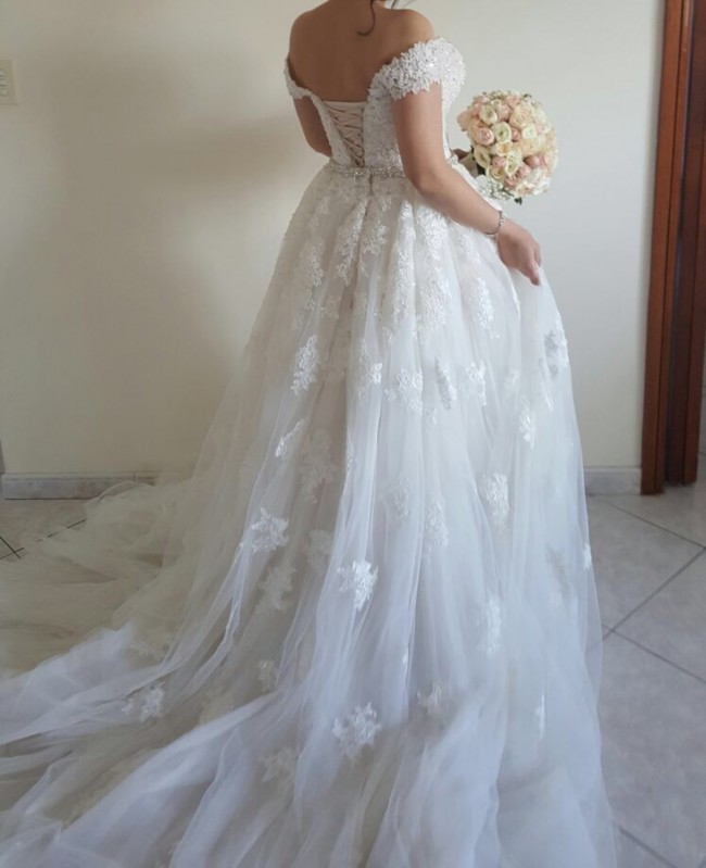 Cost Of Sophia Tolli Wedding Gowns: Sophia Tolli Custom Made Second Hand Wedding Dress On Sale