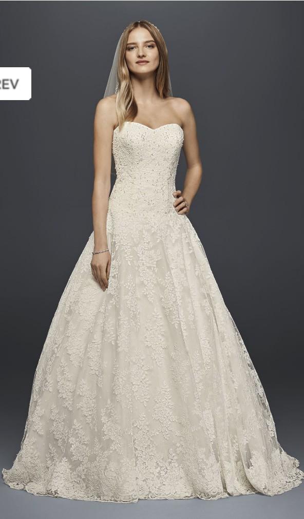David\'s Bridal New Wedding Dress on Sale 76% Off