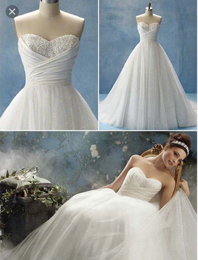 Alfred angelo disney princess collection cinderella gown for Alfredo angelo wedding dresses