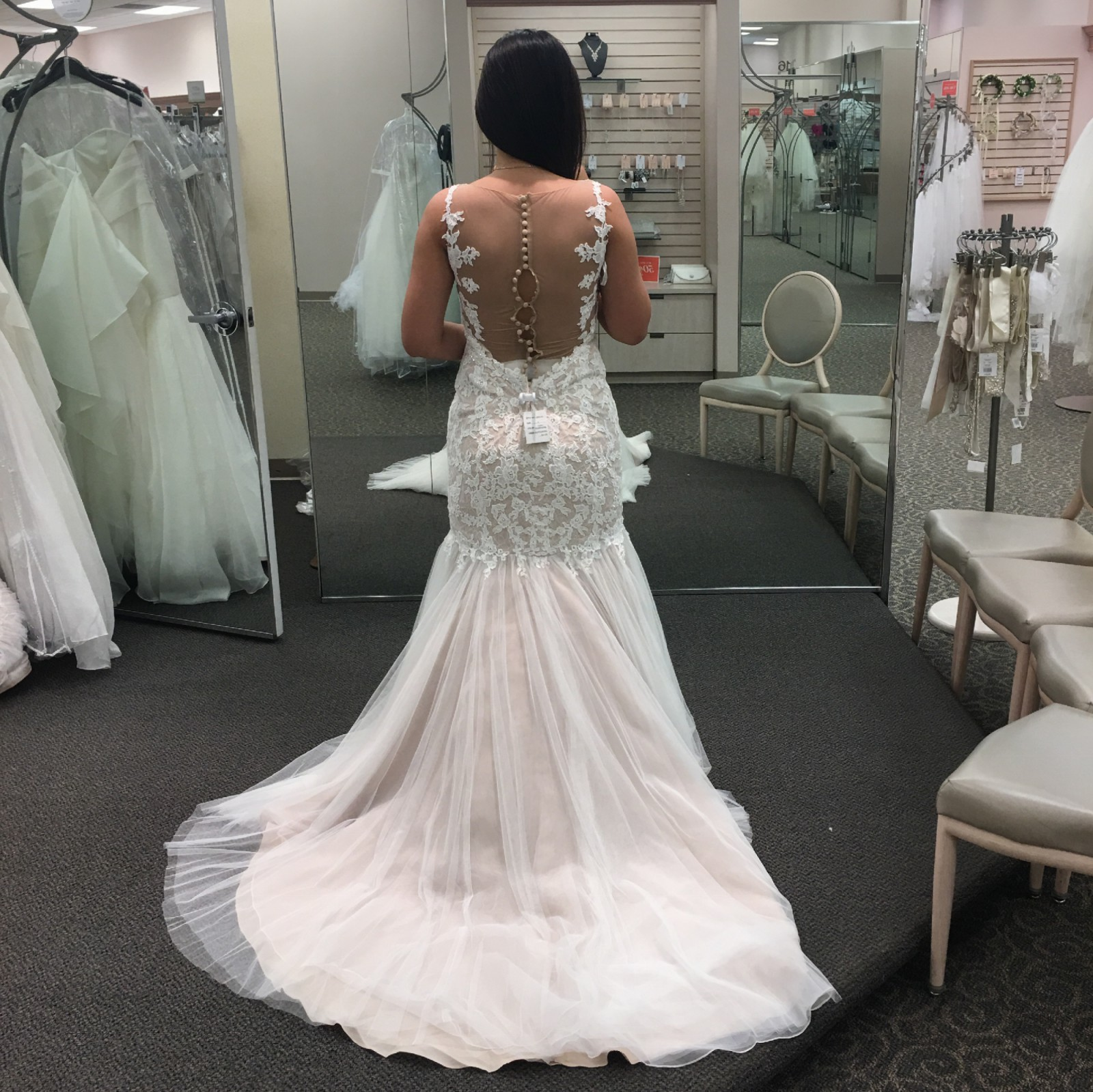 Galina signature swg723 new wedding dress on sale 39 off for Galina signature wedding dresses