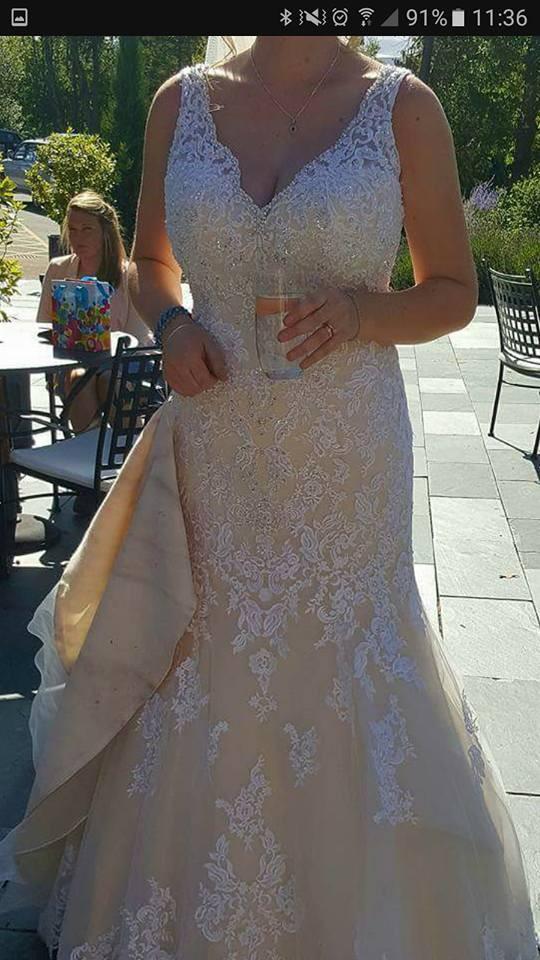 Ronald Joyce Erin PreOwned Wedding Dress on Sale 60% Off