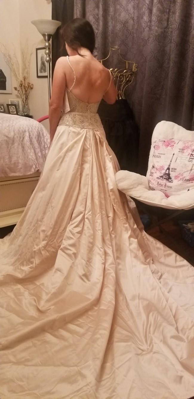 Lazaro New Wedding Dress on Sale - Stillwhite