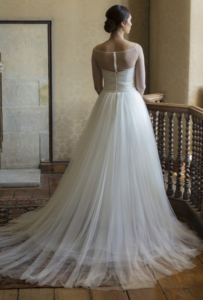 Augusta Jones Diana Sample Wedding Dress on Sale 83% Off ...