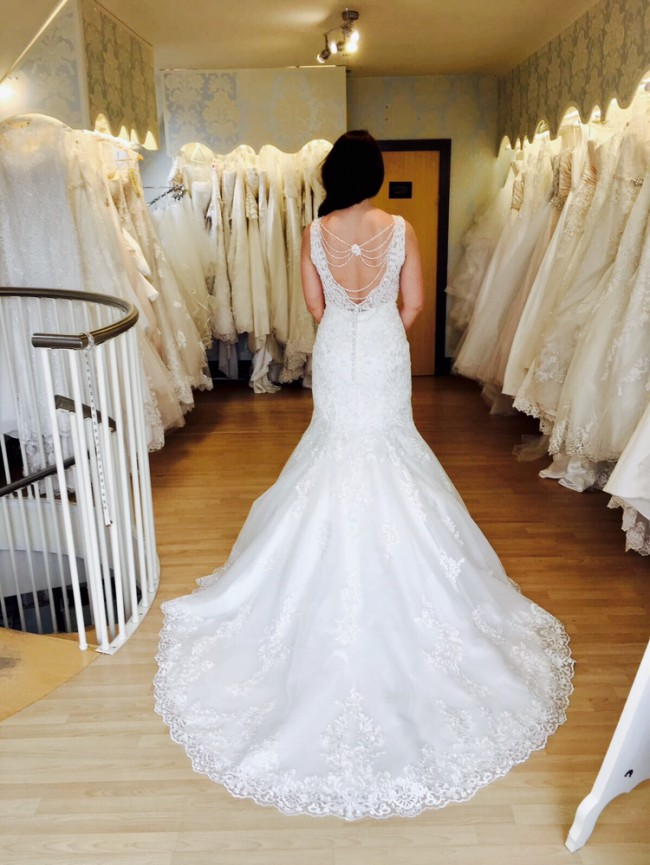 Ronald joyce erin preowned wedding dress on sale 47 off for Ronald joyce wedding dresses prices