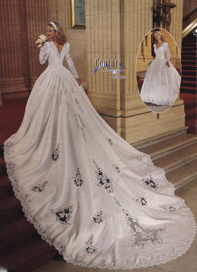 Marys Bridal Couture Ball Gown With 12 Foot Train