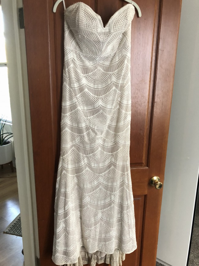 Stone Cold Fox Free People Market Gown Wedding Dress on Sale 75% Off