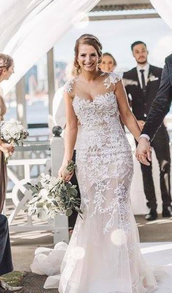 Paolo Sebastian Second Hand Wedding Dress on Sale - Stillwhite