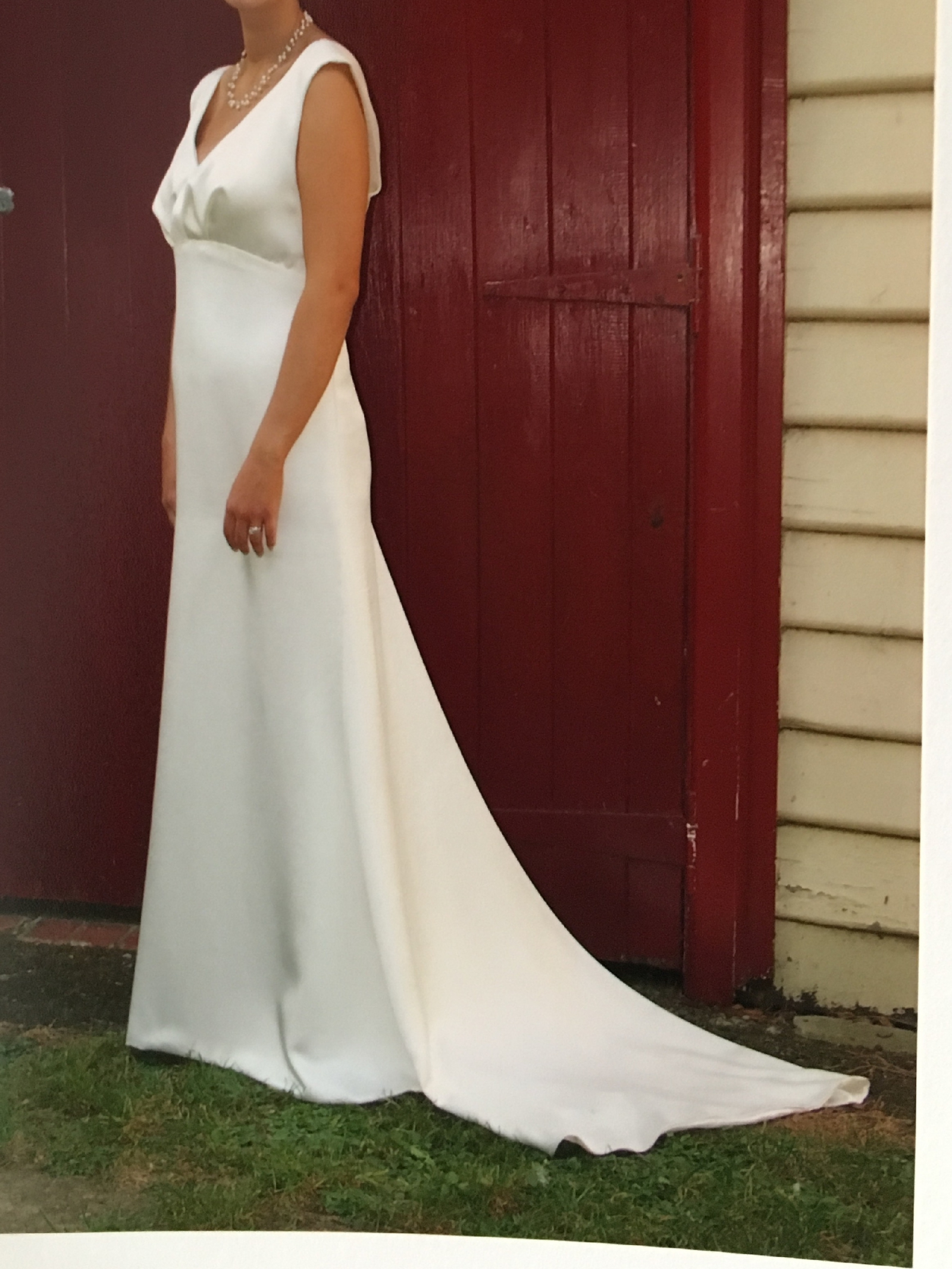Heather Sellick Custom Made Pre Owned Wedding Dress On Sale