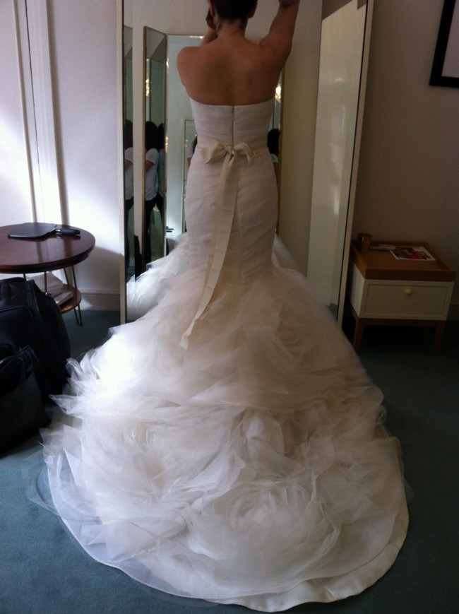 Vera Wang Gemma Wedding Dress on Sale 44% Off