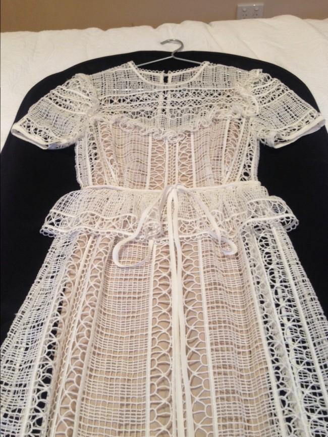 Erdem, Alda Guipure Lace Gown Spring 2015