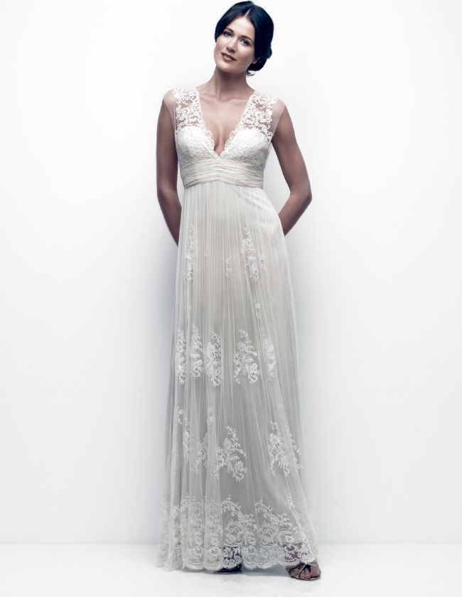 Catherine Deane Sample Wedding Dress on Sale 46% Off