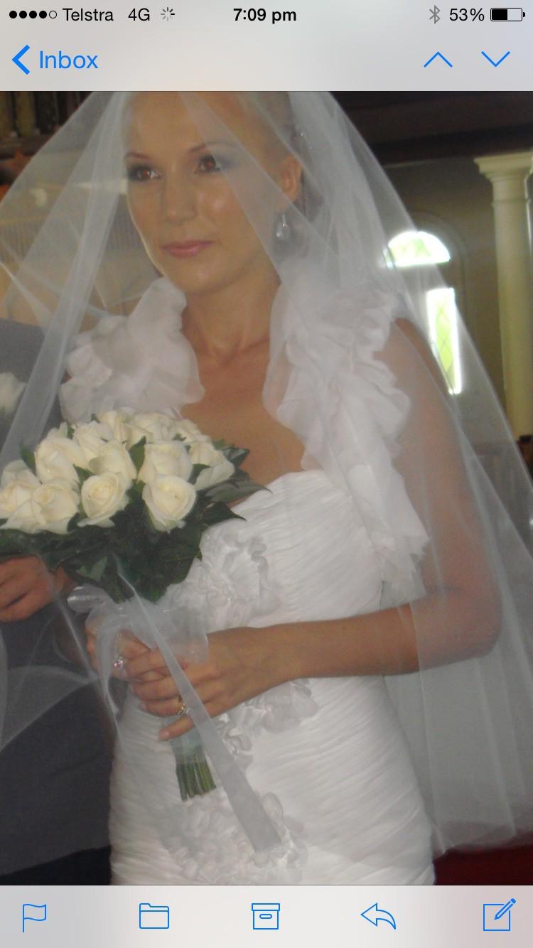 Daniel Lightfoot Custom Made Wedding Dress On Sale 71 Off