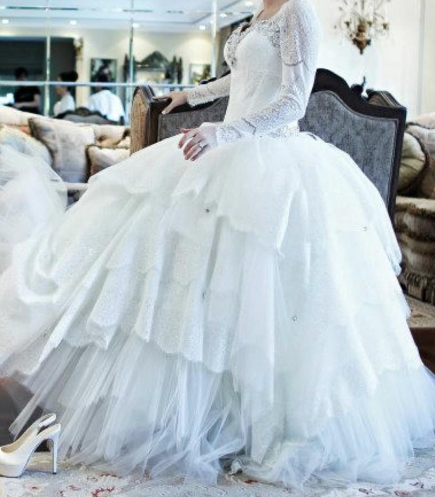 Pnina Tornai Custom Made Second Hand Wedding Dress on Sale 78% Off