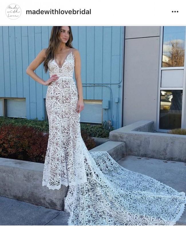 Made with love sasha preowned wedding dress on sale 31 off for Made with love wedding dresses