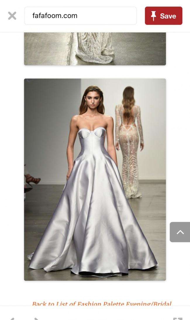 Steven khalil dahlia used wedding dress on sale 60 off for Steven khalil wedding dresses cost