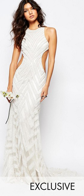 A Star Is Born, Bridal Embellished Maxi Dress PRODUCT CODE 779472